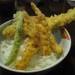 天ぷらふそう - あなご天丼