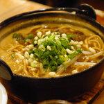 3738 - 料理写真:鉄鍋カレーヌードル