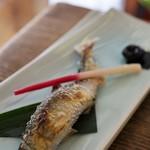鮎茶屋 - 鮎の塩焼き