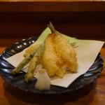 いな舟 - 鱚の天ぷら