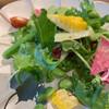 レストラン 大重亭 - 料理写真:サラダもドレッシングも美味しい。ドレッシングの中身知りたい(*´艸`)