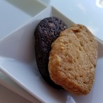カフェ ローブ - アーモンドクッキー プレーンとココア
