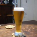 羽亜人 - 生ビール