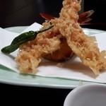 岩井屋 - 天ぷら、これは普通でした。