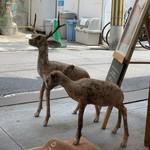 cica - 鹿のオブジェ