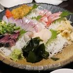 魚~ずまん - 刺身5てん盛