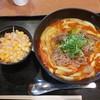 カレーうどん せんきち - 料理写真:【2019/6】肉のせ辛吉+キャベセン
