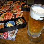 坐・和民 - つきだし&生ビール