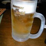 坐・和民 - 生ビール