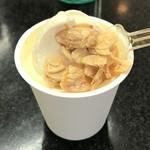 ラ・リューシェ - 砂糖掛けのアーモンドをトッピング