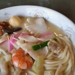 江山楼 - 料理写真:特上ちゃんぽん。いや~、まじで美味しいですよ。
