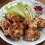 ラーメン SunQ - 鶏の唐揚!