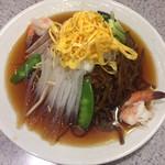 揚子江菜館 - 五色涼拌麺 (ごもく冷やしそば)
