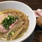麺道 麒麟児 - 特製中華そば(塩)@1,050円