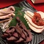 東京MEAT酒場 - 肉刺し