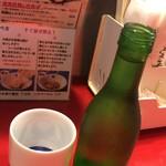 東京MEAT酒場 - 日本酒(加賀鳶)