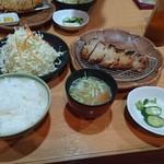 とんとん - 味噌漬炙り定食