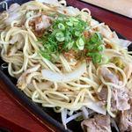 和風レストラン来夢 - 料理写真:漬物焼きそば