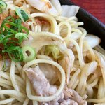 和風レストラン 来夢 - 白菜の漬物がゴロゴロ