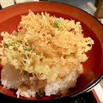 くるみ庵 - 料理写真:海鮮かき揚げ丼セット1242円