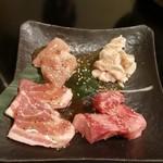 an牛 - 焼き肉ランチのお肉