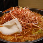 坂東太郎 - 料理写真:激辛ネギ味噌煮込みうどん