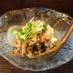 旬菜 ととや - 牛しぐれ煮のせポテトサラダ680円
