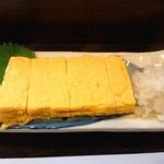 旬菜 ととや - だし巻き玉子700円