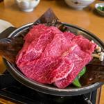 飛騨琢磨 - 飛騨牛朴葉焼き