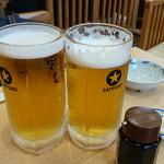 鳥竹 - ・サッポロ生 黒ラベル 大 ¥790 ・生レモンサワー ¥480