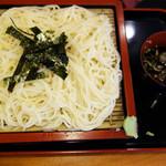 因幡うどん - 夏季限定の冷やし麺シリーズから博多細うどん580円。