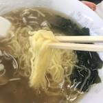 えんまん亭 - 麺アップ
