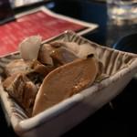 麺s慶 - いかワタのルイベ