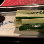 麺s慶 - みそきゅうり