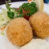 たいめいけん - 料理写真:蟹クリームコロッケ