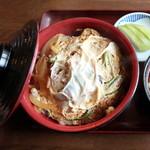 天馬軒 - カツ丼