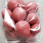 グランプラス八街 工場直売所 - ストロベリーチョコ ピンク(350円)