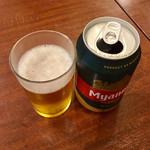 スィゥミャンマー - ミャンマービール