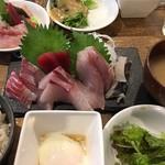 横須賀ビール - 三浦半島地魚刺身定食