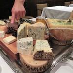 クリマ ディ トスカーナ - 本日のチーズプラッター お二人の歓声が聞こえました♪