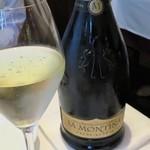 クリマ ディ トスカーナ - ラ・モンティーナ2011ブリュット きりっと辛口ですっきり美味しいです♪