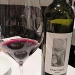 クリマ ディ トスカーナ - ジャコモ・タキス氏と娘イラリアさんが作り上げたメルロー100%ジャコモ 極希少なワインをいただきました 佐藤シェフに感謝ですm(__)m