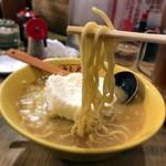 九十九ラーメン - 中細麺 硬め 脂抜き