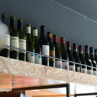 ワイン好きにたまらない!40種類以上のラインナップでご用意