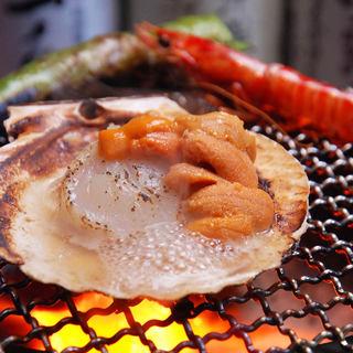 地元神戸と全国の旨いもんを炭火の七輪焼きで満喫