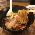 銀座 創龍 - 細い棒麺