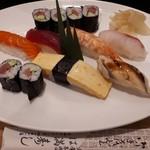 は満寿司 - 寿司ランチ1000円(税別)