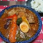 Kita cafe - 豚角煮のスープカレー