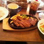 Kyariri - アメリカンビーフステーキ定食