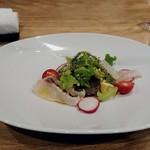 Obase - 真鯛とナス、野菜